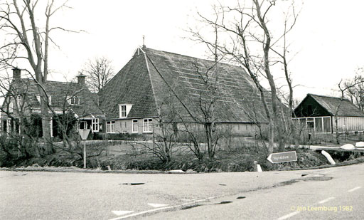 Oldehuis in februari 1982